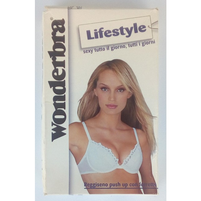 -60% (Euro 10,00) Wonderbra Reggiseno Push-Up Art. 08036.000
